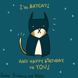 I'm BATCAT! by minicosmicgirl