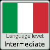 Italian Language Level: Intermediate by iFellDownARabbitHole