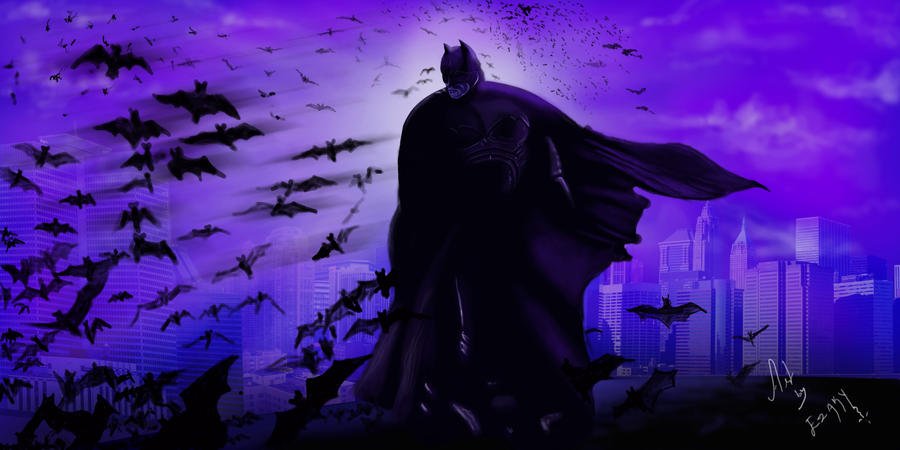 The Dark Knight Rises - 2 by ezakytheartist