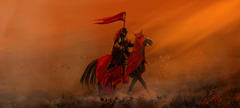 Knight by ezakytheartist