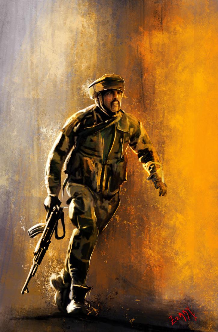 Soldier by ezakytheartist