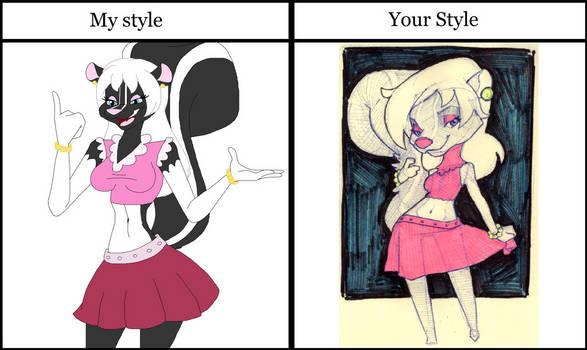 Natasha MacRiff Doodle Style Meme