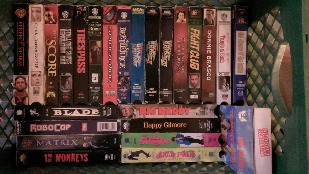 VHS Tapes For SALE By Pohlranda3 Writing