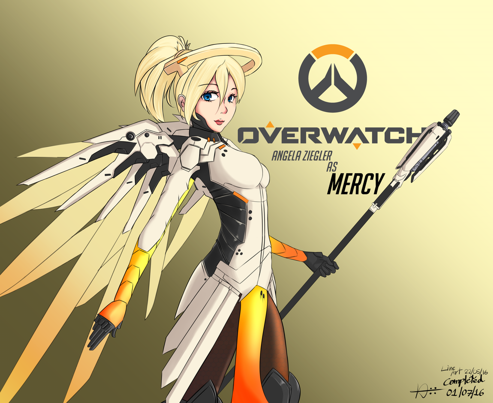 Mercy of OverWatch by Nix62