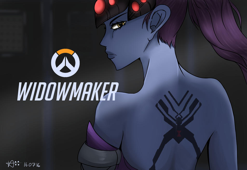 WidowMaker -OverWatch- by Nix62