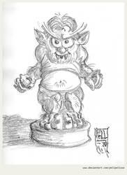 Wolfie sketch for Pummel
