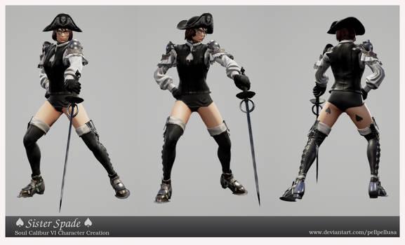 Sister Spade (Soul Calibur VI Creation)