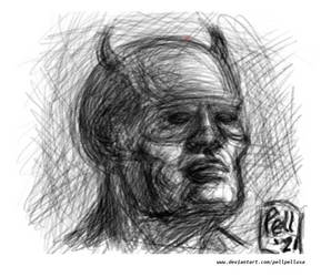 The Man Without Fear Sketch