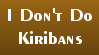 No Kiribans Stamp by Qarcyn