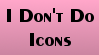 No Icons Stamp by Qarcyn