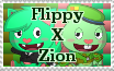 Flippy X Zion Stamp by Qarcyn