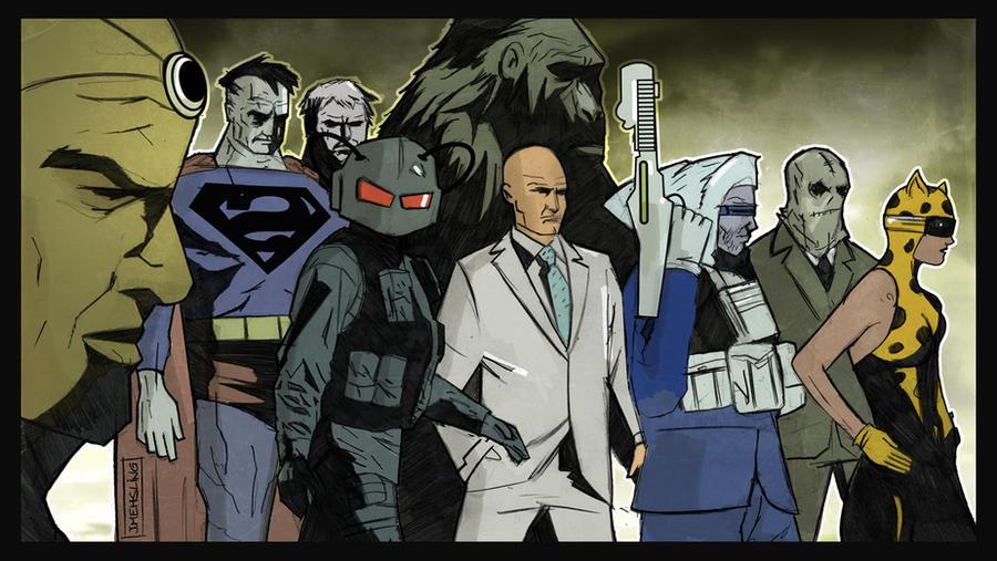 Legion of Doom by CartoonCaveman
