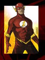 The Flash 09 by CartoonCaveman