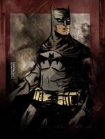 Batman by CartoonCaveman