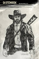 Red Dead Redemption by CartoonCaveman