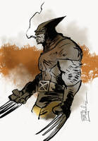 Wolverine by CartoonCaveman