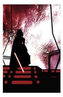 Vader by CartoonCaveman