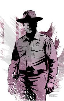 Chief Hopper from Stranger Things