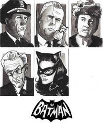 Batman 66' Sketchcard Commissions
