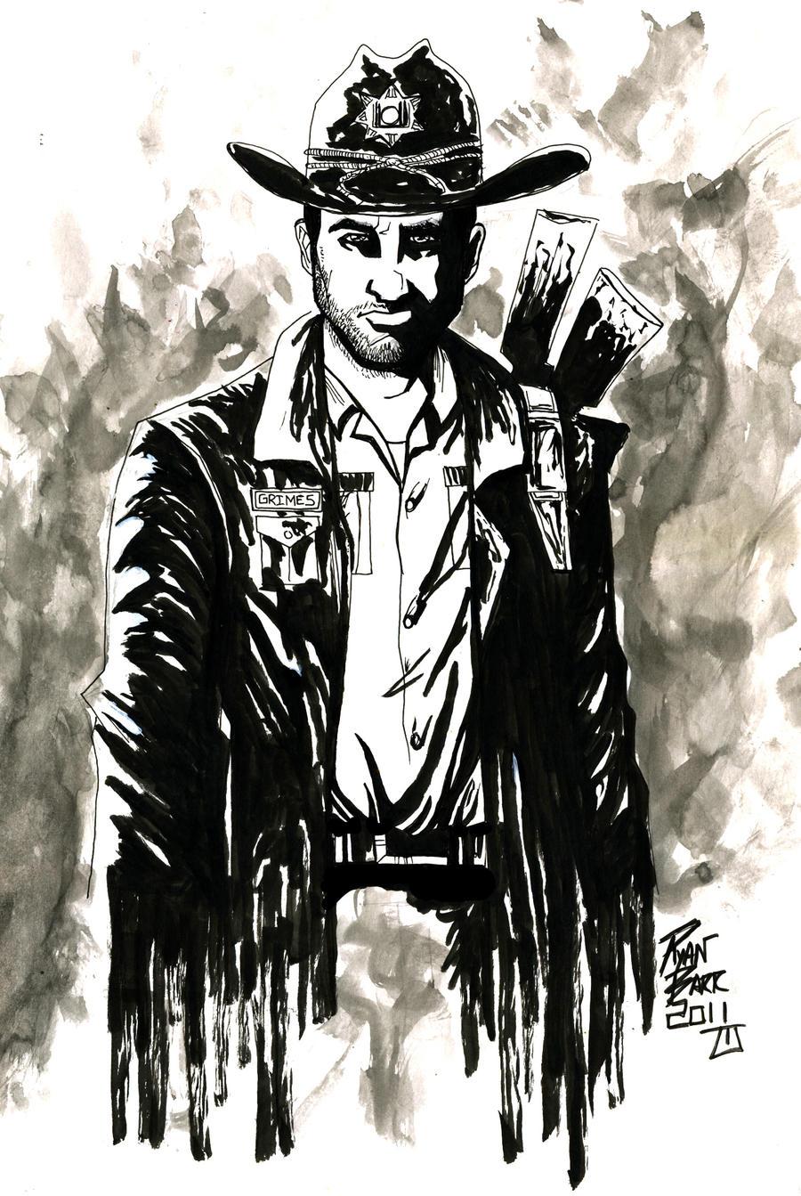 Walking Dead Rick Grimes By RADMANRB
