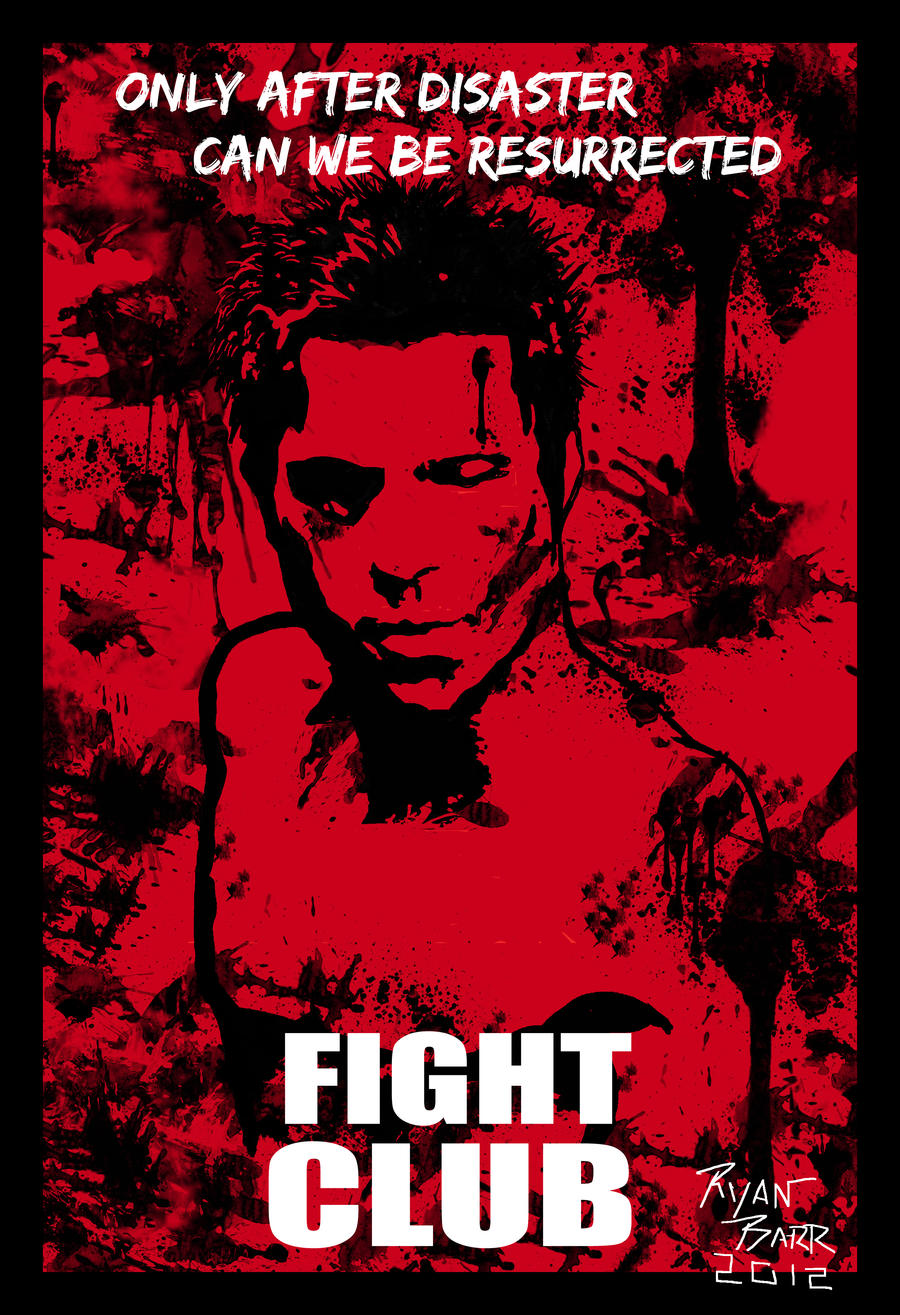 fight club essays Fight club full auto saved to lawfully concern he owns everything he wanted to from his condo to the furniture's he have deconstruction refers to the interpretation of a text not really with the mind of the author's intent, rather with a subjective approach.