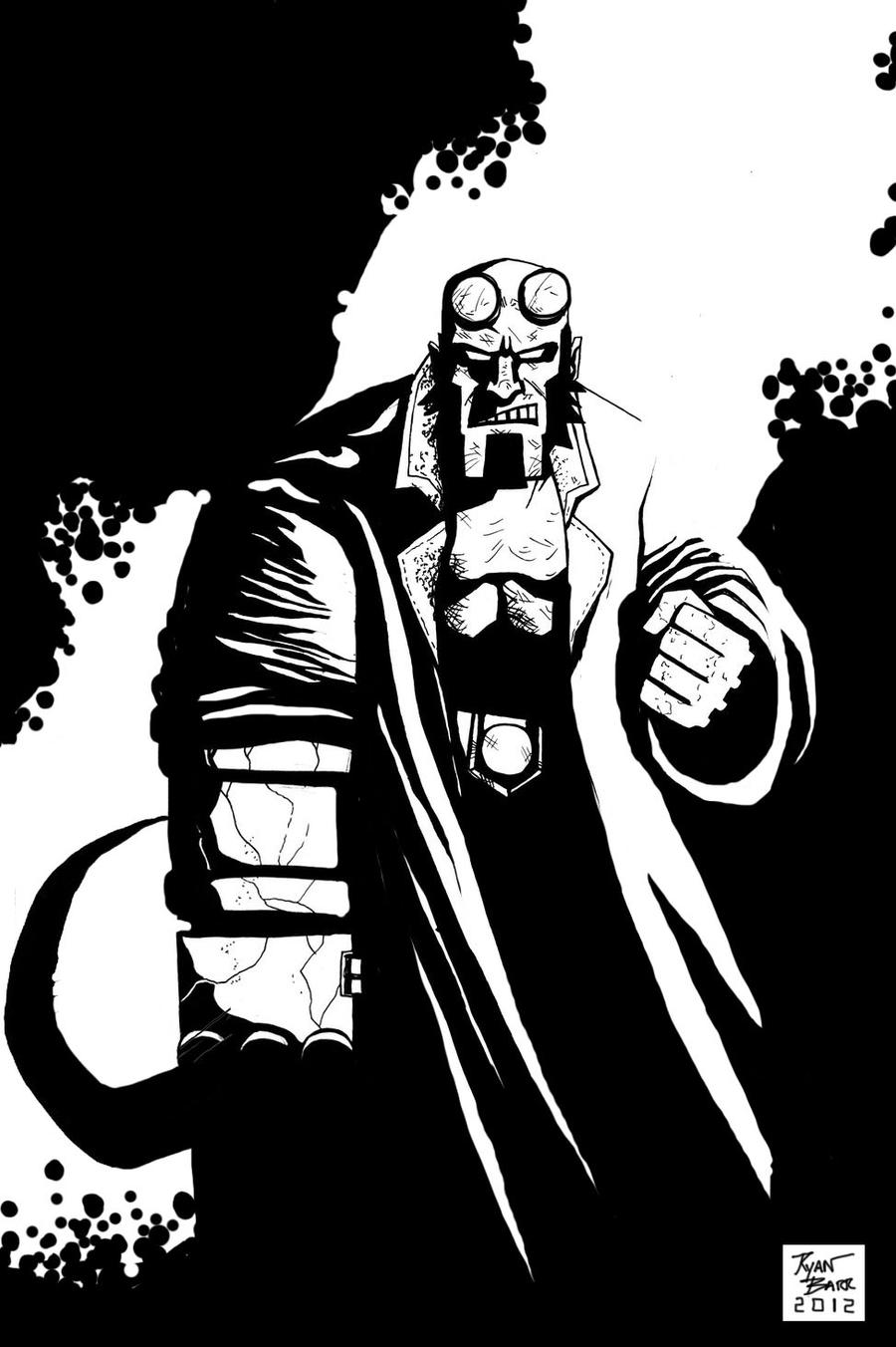 Hellboy by RADMANRB