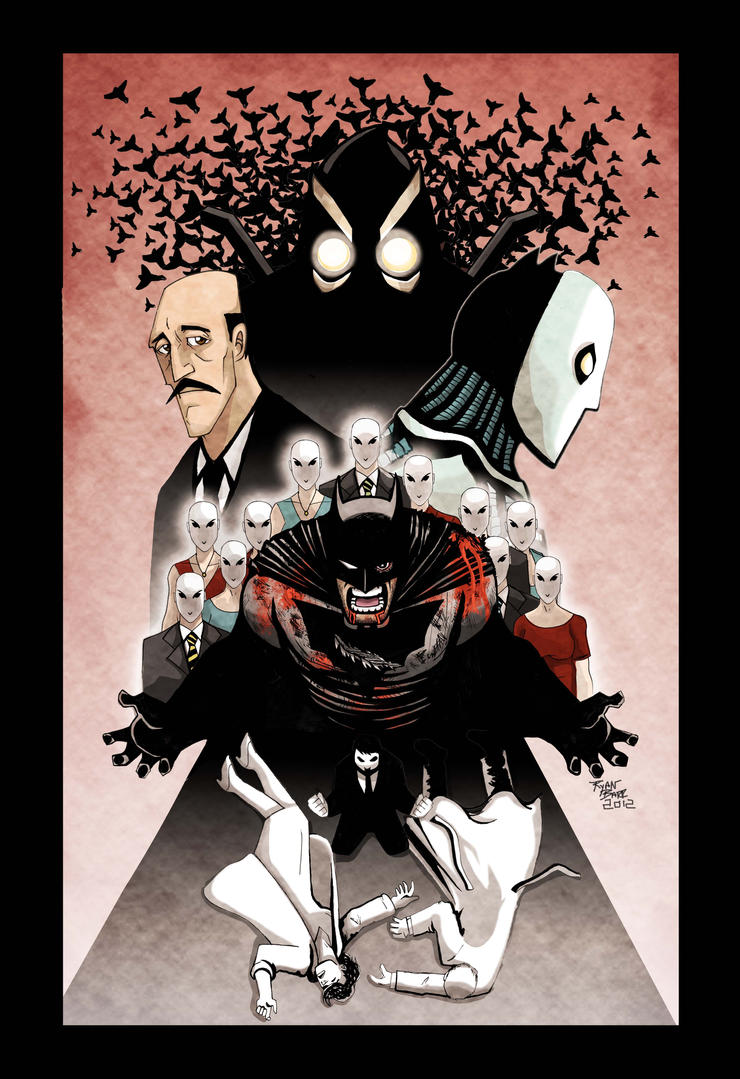 Batman The Court of Owls by RADMANRB