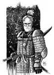 Dwight Samurai Schrute by RADMANRB