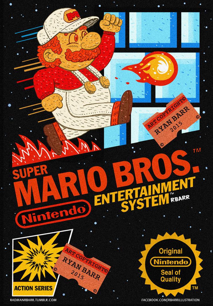MARIO BROS box by RADMANRB