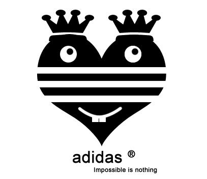 Adidas logo da crsvr su deviantart