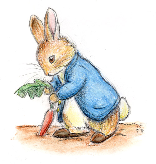 Peter Rabbit by Porcubird
