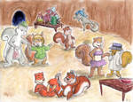 Sweet 16 Squirrel Soiree