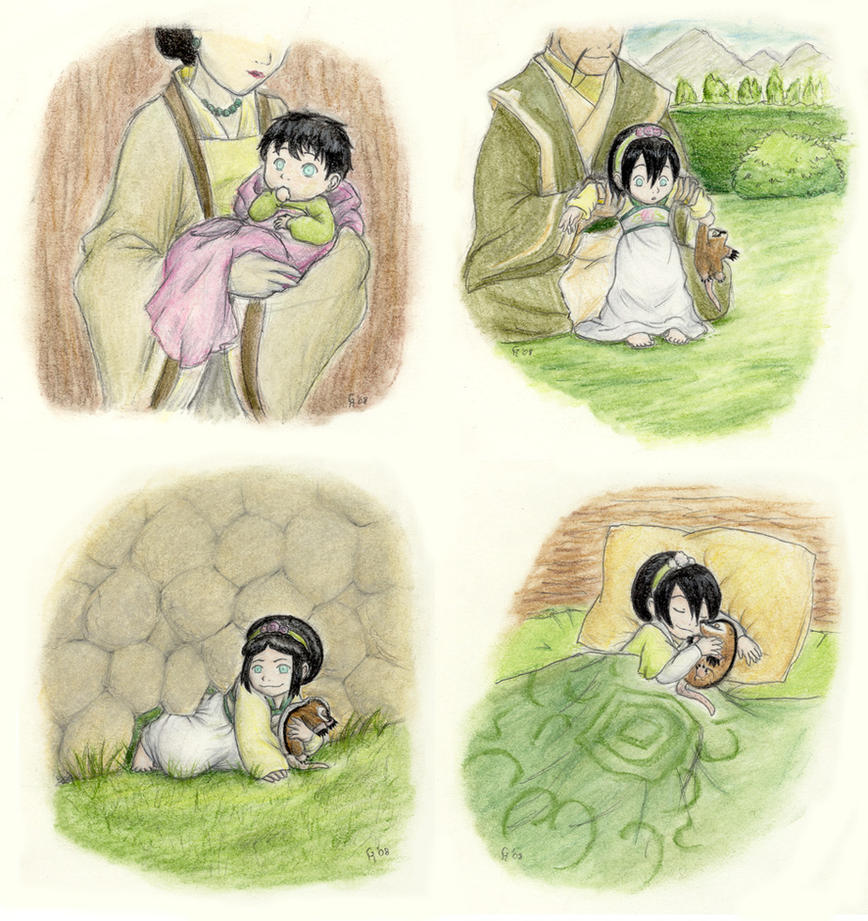 little one, so sweet by Porcubird