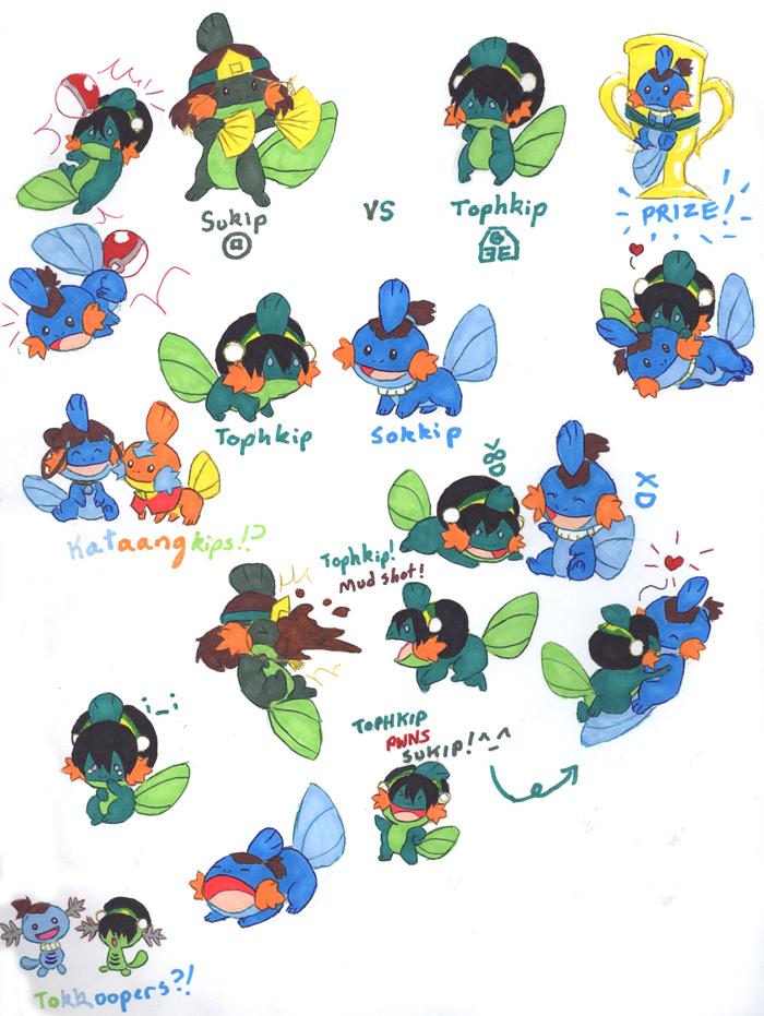 Many Many Tokkips by Porcubird
