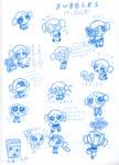 Bubbles Sketches