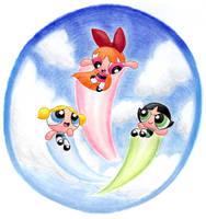 The Powerpuff Girls by Porcubird