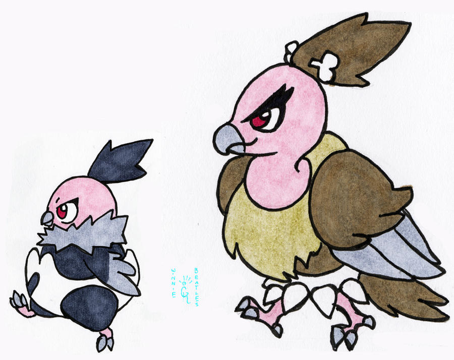 walky vullaby and mandibuzz by porcubird on deviantart
