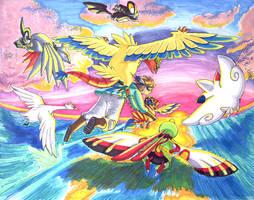 Flight of the Heart's Fanfare by Porcubird