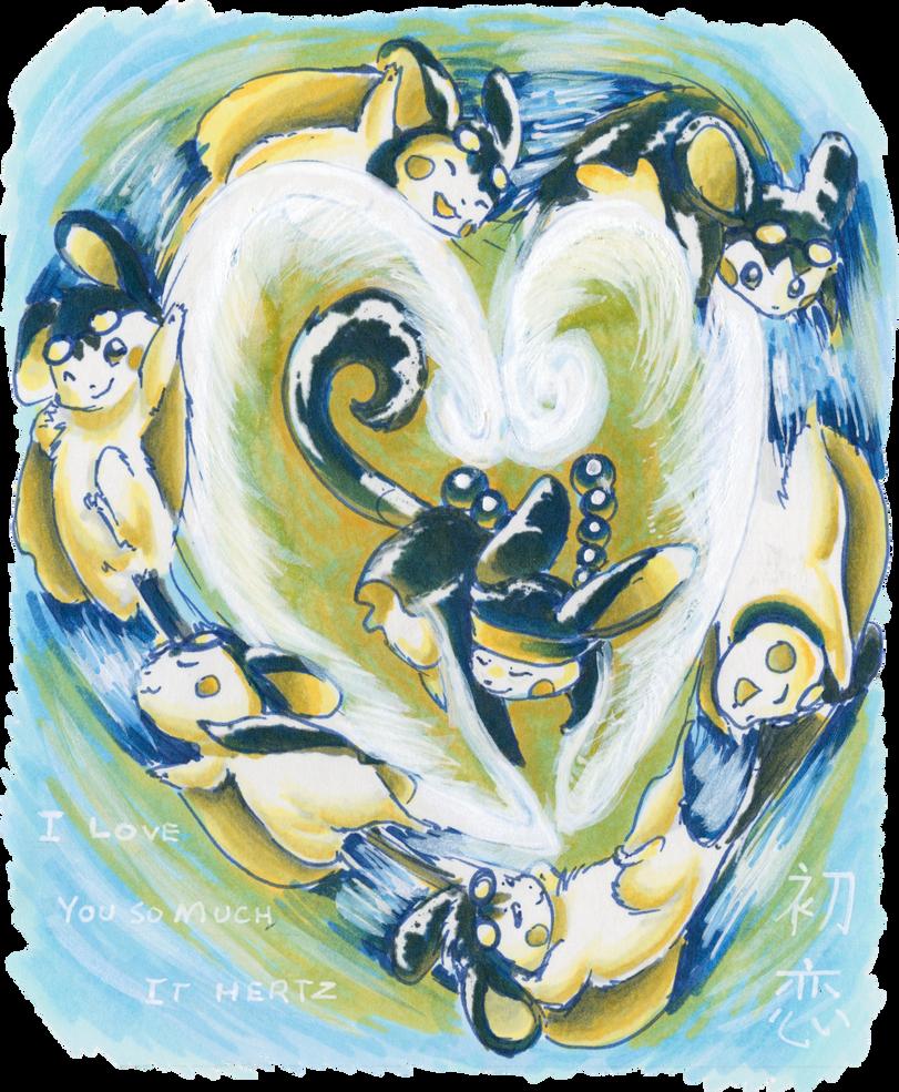 Love Hertz by Porcubird
