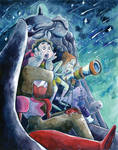 Steven Universe #1 Variant - Stargazing by Porcubird