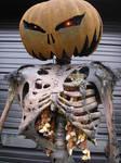 Pumpkin Ghoul close by EerieDesign