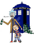 Rick And Morty Dr.Who Style