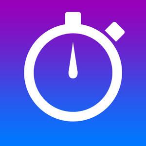 Stopwatch Icon Flat Design