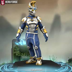 Hero Forge- Ciphermon or Cybermon