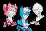 Elita-One, Chromia and Arcee