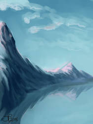 Morning, Mountains (REDO) by AutoConBuddy