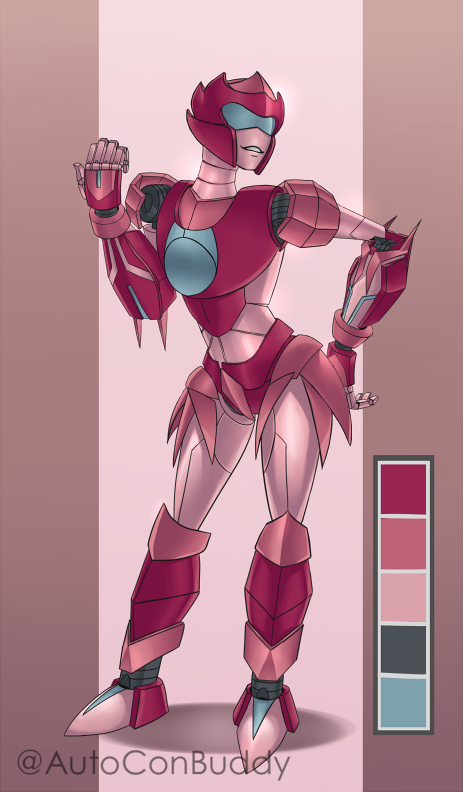 Robot OC: Novana by AutoConBuddy