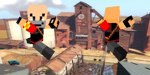 TF2 Minecraft Heavy skin