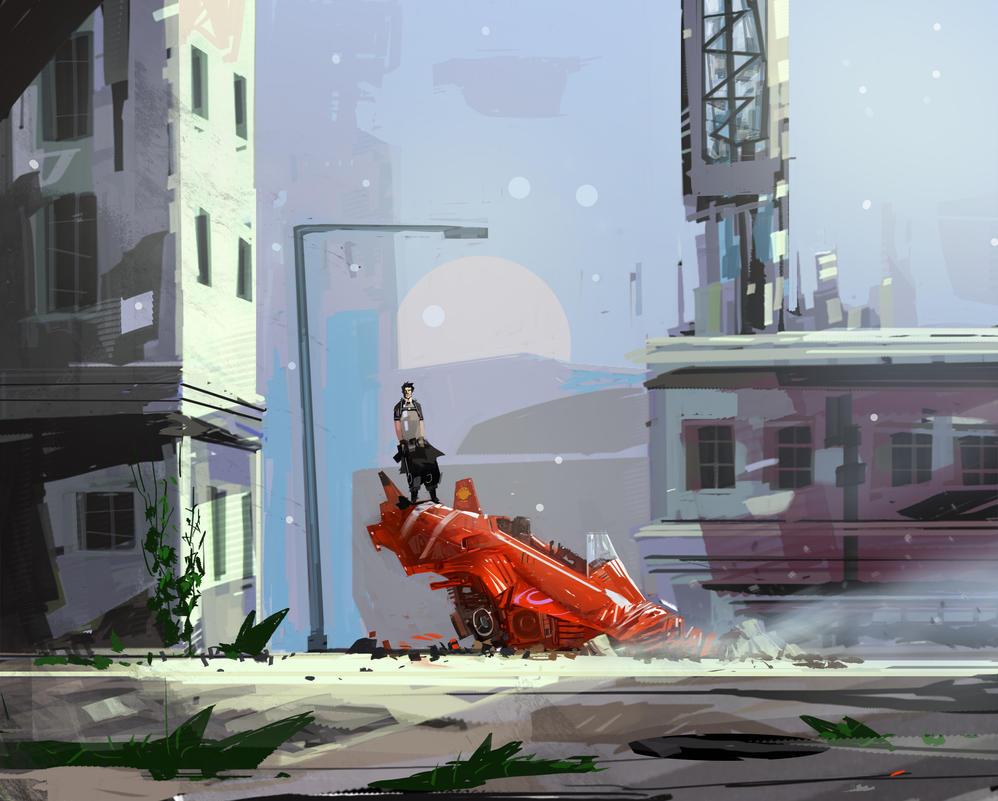The Speeder by JeanLaine
