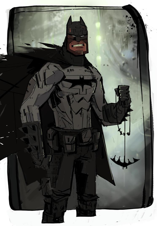 Batman by JeanLaine